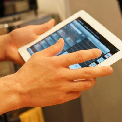 Hand iPad