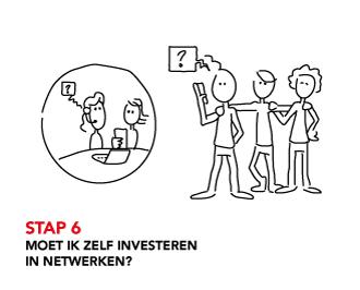 STAP 6 Moet ik zelf investeren in netwerken?