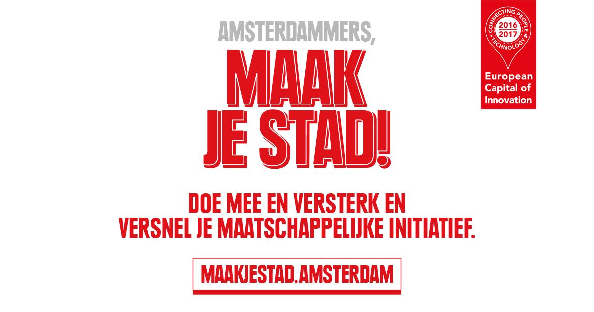 6 ton voor goede idee n voor een gezonde en talentvolle for Amsterdam economica