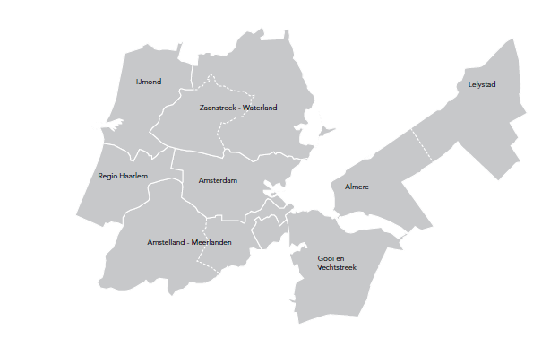 Kerncijfers economie metropoolregio amsterdam amsterdam for Amsterdam economica