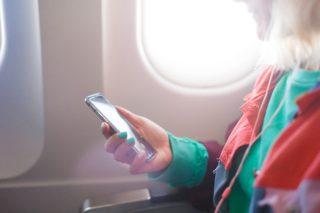 vliegtuig data delen